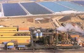 Fábrica magnésio do Mar Morto (Imagem cedida pelo Israel Chemicals Ltd.)