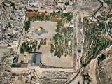Aerial view of the Temple Mount, Jerusalem