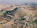 Herodium, or Herodion, in the Judean Desert, where King Herod built a fortress and palace