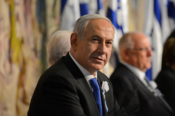 PM Netanyahu at opening session of the 19th Knesset