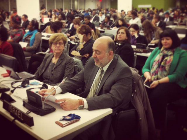 Amb Prosor addresses UN Commission on the Status of Women