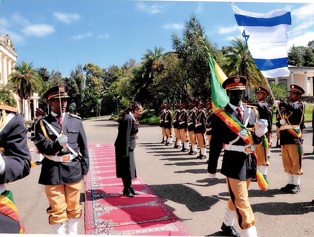 Ambassador presents credentials to President