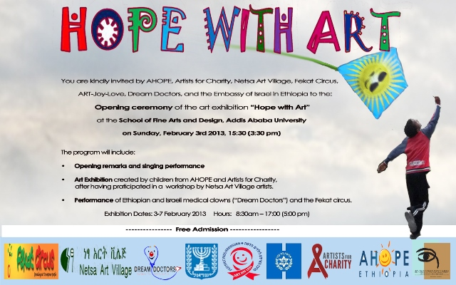 Invitation To Art Exhibition