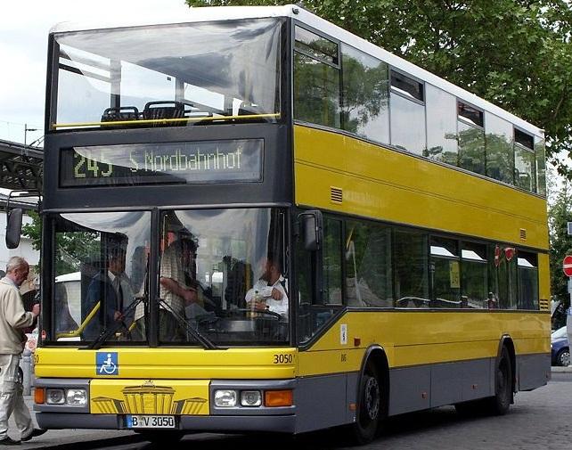 Berliner Busse Sind Anders