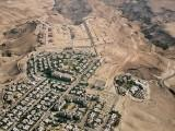City of Arad in the Negev - Aerial View