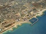 City of Ashqelon on the Mediterranean coast - Aerial View