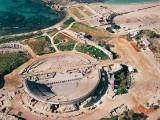 The Roman theater at Caesarea