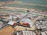 Dead Sea Works producing potash and other chemical products
