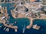 The Eilat Marina - Aerial View