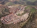 Aerial view of the community of Nofit in the Lower Galilee