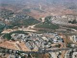Aerial view of the Har Hotzvim high-tech industrial park in Jerusalem