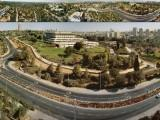 The Knesset, Israel's parliament, in the capital city of Jerusalem