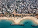 The city of Netanya on Israel's Mediterranean coast