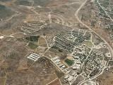 Aerial view of Ofra in Samaria