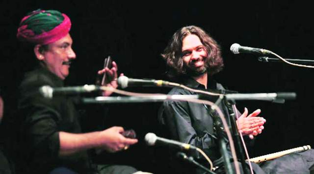Shye Ben Tzur at his performance in Delhi on Thursday