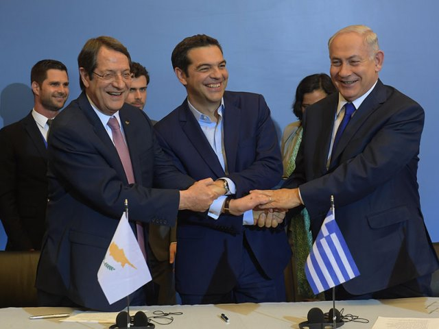 Trilateral meeting in Greece