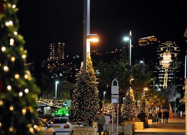 christmas festivities in israel