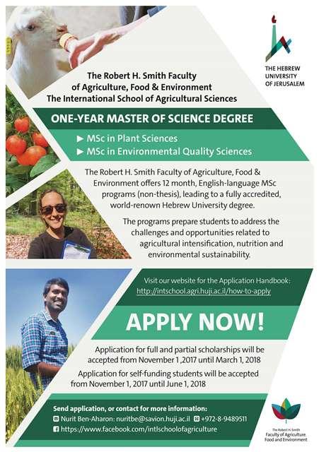 Master's Programs in Israel