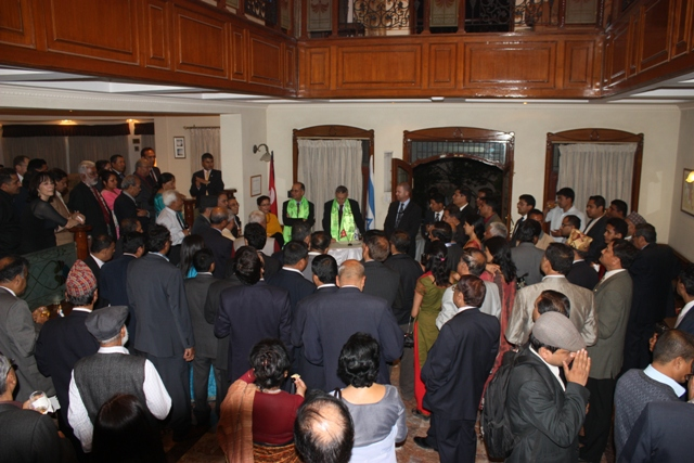 farewell to Nepali Ambassador