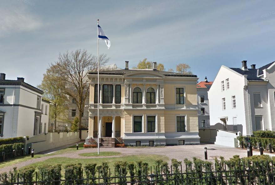 Israels ambassade i Norge