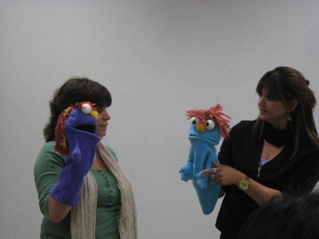 Puppet therapy for Puppet consul
