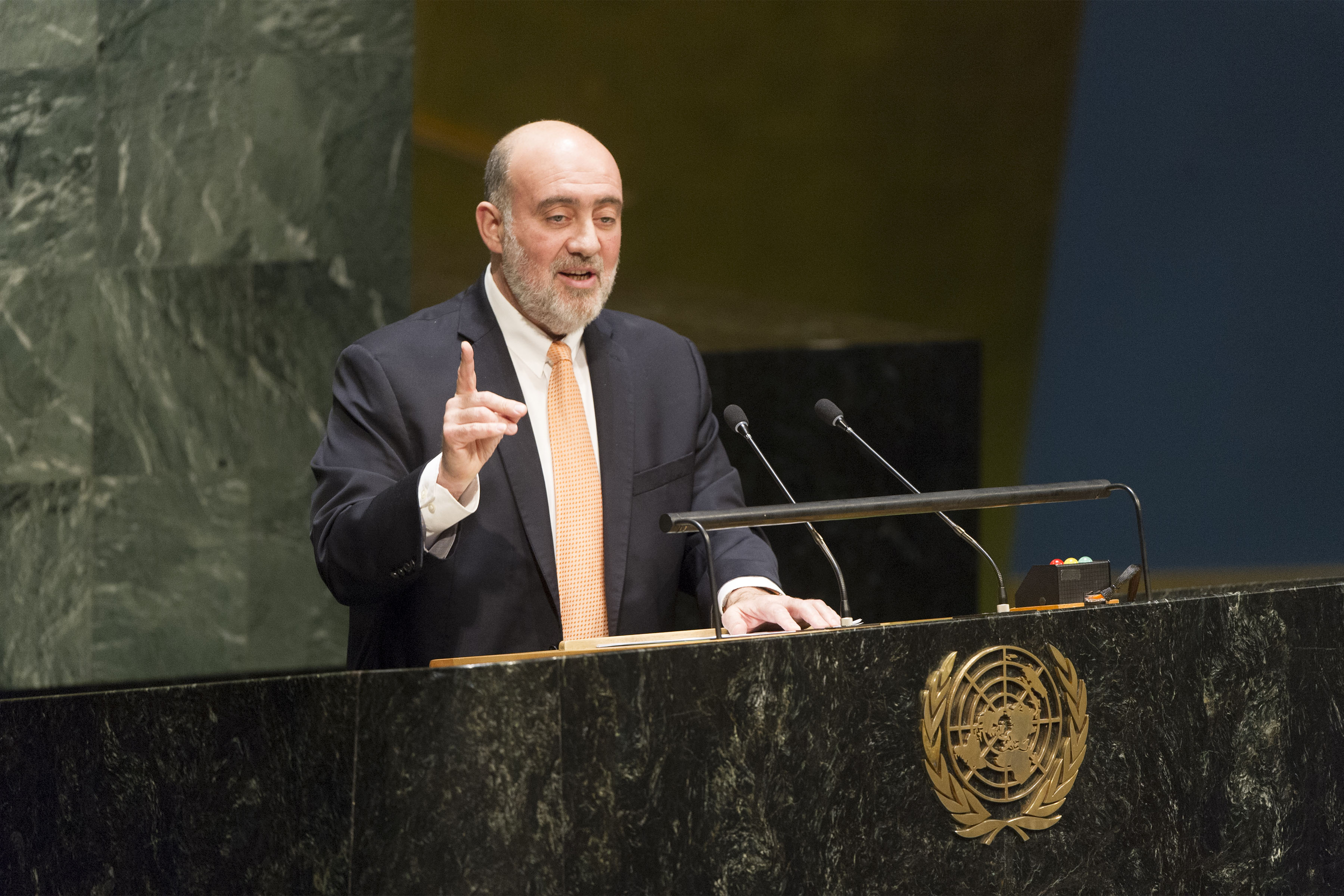 Amb. Prosor during UNGA Statement on